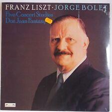 LISZT: Jorge Bolet CONCERT STUDIESL'oisaeu-Lyre SEALED 1979 Vinyl LP