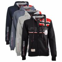 Felpa GEOGRAPHICAL NORWAY Faponie New sweatshirt maglia Uomo Men Full Zip Cap...
