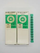 Lot of (2) - (100) Power Fasteners .27 Caliber Level 3, Green Power Strip Loads.