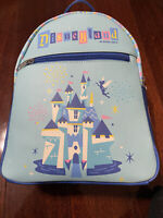 Disneyland 65th Anniversary Loungefly Funko Mini Backpack Castle Tinkerbell