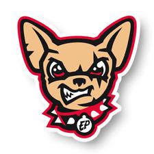 El Paso Chihuahuas Team Mascot Decal Die Cut Vinyl Sticker Car Window Laptop