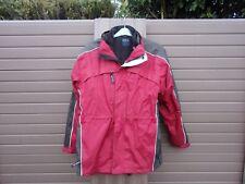 Snowdonia Red Rain / Windproof Jacket & Zip In Fleece Liner MEDIUM
