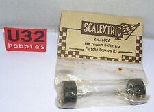 SCALEXTRIC EXIN 6026 EJE DELANTERO COMPLETO PORSCHE CARRERA RS EN BLISTER