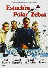 Eisstation Zebra [DVD] *NEU* DEUTSCH 1968 mit Rock Hudson, Alf Kjellin