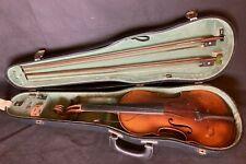 Meinel & Herold4/4 Geige Violine / 2 Bögen / Kasten - alt, zum Aufarbeiten
