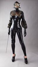 Latex Catsuit - RubberSuit - Größe L - schwarz - Ganzanzug