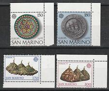 v2285 San Marino/ CEPT 1976+1977  MiNr 1119/20+1131/32 ** m.Eckrand