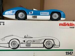 Voiture de course Mercedes Mârklin en boîte avec certificat