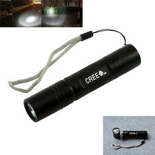 Mini 5-Modes Adjustable CREE XPE Q5 LED 18650 Flashlight Torch 1200LM