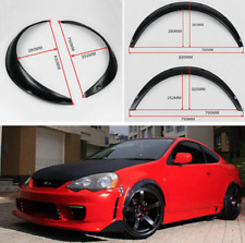Carbon 4pcs Fender Wheel Arches Flare extension flares wide 4 arches set