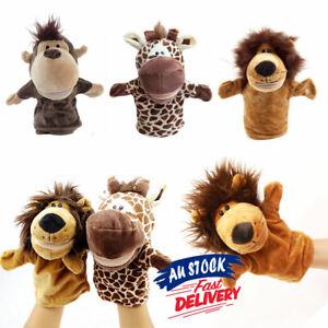 Animal Wildlife Hand Hand Soft Plush Gif Glove Puppet Puppets Kid Children Toy
