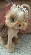 "Tini Puppini Plush Yorkie Dog Toffee 9 1/2"" From 2008"