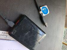 WD My Passport Essential 300 GB Portable External Hard Drive USB 3.0 + USB 2.0
