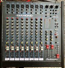 mischpult mixer Studiomaster Diamond Pro 8-3 - 8 Kanal +48v - Gut