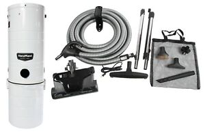 VacuMaid BL12 Central Vacuum and Complete Electric Attachment Kit
