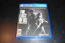 Replacement Case (NO GAME) The Last of US Remastered PS4 Playstation 4