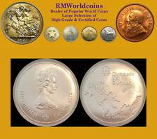 Canada 1974 10 Dollars Olympic Map, Error Mule, NGC 65 PQ, Rare Mtg 320 coins,