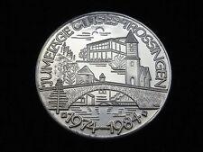 Stempelglanz Medaillen aus Silber