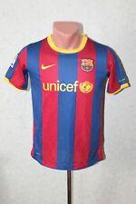 Barcelona Football Shirt Jersey Camiseta Soccer 2010 2011 Home Size L Youth Nike