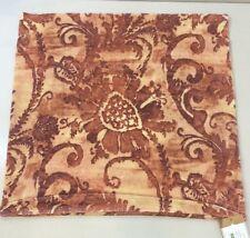 """NWT Pottery Barn Rust SCARLETT VELVET Pillow Cover 22 x 22"""""""