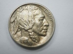 1913 P Buffalo Nickel Type 1 - Choice # 370