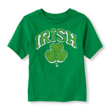 Baby Boys Irish Shamrock Shirt New with Tags Size 9-12 Months St Patricks Day!!