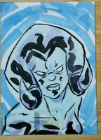 2018 UPPER DECK FLAIR MARVEL 1/1 HAND DRAWN SKETCH CARD BY TIMOTHY GOATHERS *