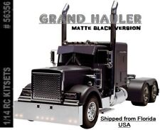 GRAND HAULER MATTE BLACK EDITION Semi Truck Kit RC Tamiya 56356 USA SELLER