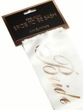 Ann Summers Ivory Bride To Be Sash New with Tags Hen Party Night Wedding