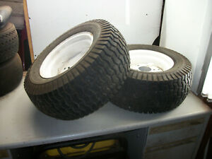 2003 Craftsman GT5000/6 Speed Garden Tractor Part : Rear Tires and Wheels