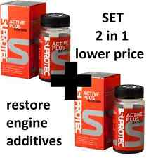 2 IN 1 additives for RESTORE engine SUPROTEC ACTIVE GASOLINE PLUS for oil NEW