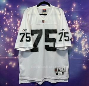 Reebok Raiders Howie Long NFL Throwback Jersey large