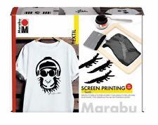 Marabu Textil Transfer Set Screen Printing Siebdruck waschbeständig Textilfarbe