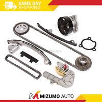 Timing Chain Kit Water Pump Fit 02-06 Nissan Sentra Altima 2.5L QR25DE DOHC