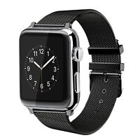 42mm iWatch Milanese Stainless Steel Bracelet Strap Band Apple Watch Series3 2 1