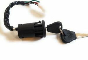 NEW 4 Wire Ignition Key Switch -- for Honda cub C50 C70 EX3 C90 Chaly CF50 CF70