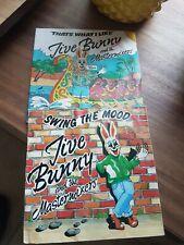 "JIVE BUNNY Bundle Swing The Mood & Thats What I Like 7"" Vinyl Records VG+"