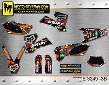 KTM EXC 450 525 2004 stickers kit graphics decals Moto Style MX
