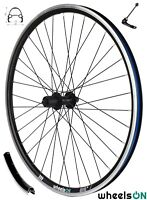 26 inch wheelsON Rear Wheel 7/8/9/10 Speed Cassette 36H Black QR Rim Brake