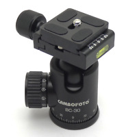 Cambofoto BC-30 Ball Head Mount System for Camera Tripods All Metal 360-Degree Q