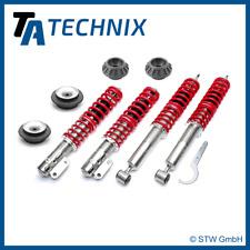 TA TECHNIX PREMIUM GEWINDEFAHRWERK + 4x DOMLAGER VA + HA - VW GOLF 2, 3, VENTO
