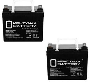 Mighty Max 12V 35AH SLA Battery for Pride Sundancer Mobility Scooter - Pack