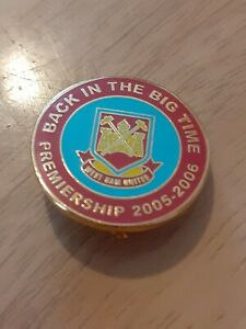 West Ham United Badge Back In The Big Time