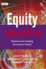 The Wiley Finance: Equity Valuation : Models from Leading Investment Banks...