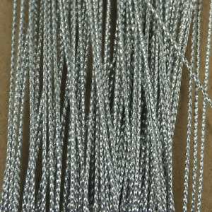 100M Silver Card Craft Gift Making Cords String Approximate 1mm Gift Tag Threads