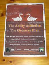 THE AMITY AFFLICTION - THE GETAWAY PLAN  2006 Australian Tour - Laminated Poster