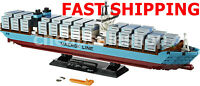 FAST Shipping Custam Creator Maersk Line Triple-E Lego Compitible 10241 + manual