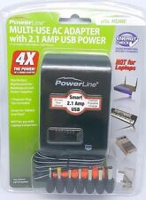 "Power Powerline 1300 mA Universal Ac Adapter (90334) - Newâ""¢"