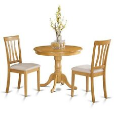 3 PC kitchen table set-small kitchen table plus 2 Dining Chairs NEW