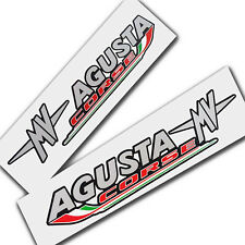 MV Agusta corse F3 F4 Motorcycle decals graphics style design x 2 pieces. small